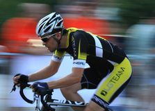 Pro гонки критерия Стоковые Фотографии RF