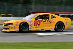 Pro гоночная машина Chevrolet Camaro на курсе Стоковая Фотография RF