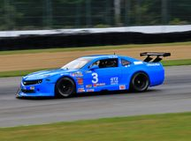 Pro гоночная машина Chevrolet Camaro на курсе Стоковая Фотография