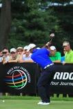 Pro игрок в гольф Tiger Woods Стоковая Фотография
