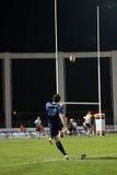 Pro allumette RCNM du rugby D2 contre les USA Colomiers Images libres de droits