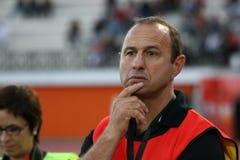 Pro allumette RCNM du rugby D2 contre Stade Montois Photographie stock libre de droits