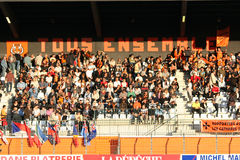 Pro allumette RCNM du rugby D2 contre Stade Montois Photo libre de droits