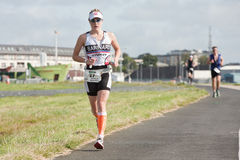 Pro atleta Natalie Barnard (27) zdjęcie royalty free