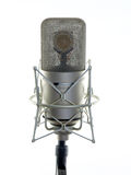 Pro Audio Studio Mic. Very expensive pro audio studio microphone Stock Images