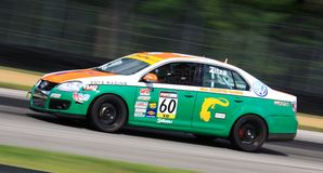 Pro automobile racing Stock Photo