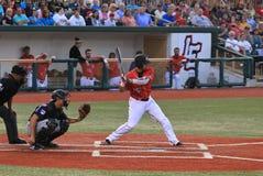 Pro ball hitter Stock Photography