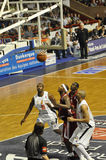 pro basket royaltyfri foto