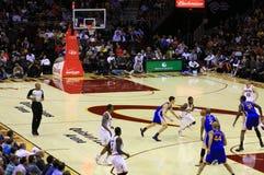 Pro basketball action Stock Image