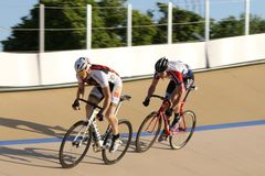 Pro Bicycle race Royalty Free Stock Images