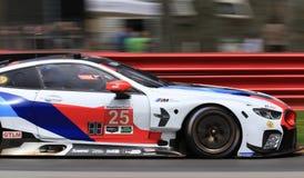 Pro BMW M8 GTE Ścigać się Zdjęcie Royalty Free