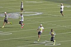 Pro Bowl Praxis Stockfoto