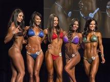 Pro cérémonie de récompenses de bikini Images stock