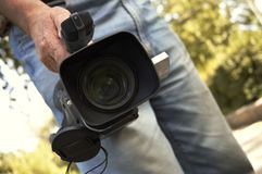 pro camcorder 3ccd Arkivfoto