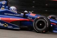 Pro car driver Graham Rahal Stock Image
