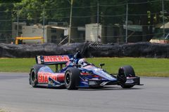 Pro car driver Graham Rahal Stock Image