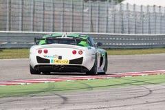 PRO CARRO DE CORRIDAS GT4 de Ginetta G50 Imagem de Stock Royalty Free