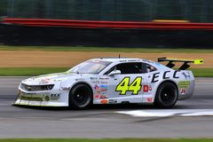 Pro Chevrolet Camaro race car on the course Royalty Free Stock Image