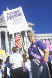 Pro-choice rally at State Capitol Building, Missouri Stock Photography