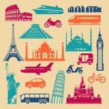Prości punkty zwrotni i transport Royalty Ilustracja