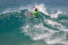 A pro competição surfando de Ballito Foto de Stock