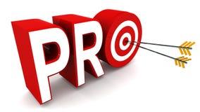 Pro concept Image libre de droits