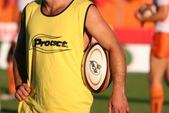 Pro corrispondenza RCNM di rugby D2 contro Stade Montois Fotografie Stock