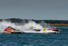 Pro corsa di barca di riserva Immagine Stock