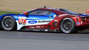Pro corsa di Ford GT Immagini Stock Libere da Diritti