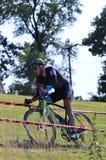 Pro course de Cyclocross off-roading photo libre de droits