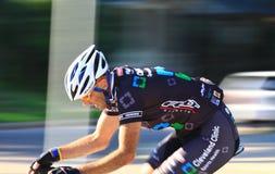 Pro criterium street course racing Stock Photos
