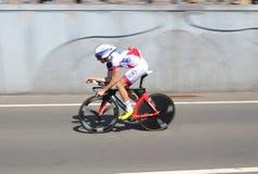 Pro cycling team Française des Jeux Stock Image