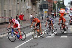 Pro cycling, Tour de Pologne Stock Image