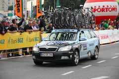 Pro cycling vehicle Stock Photos