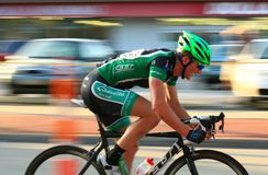 Pro cyclist Royalty Free Stock Photos