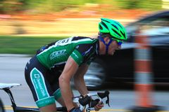 Pro cyclist Royalty Free Stock Images