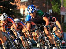 Pro cyclist Royalty Free Stock Photography