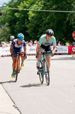 Pro Cyclists Compete at Stillwater Royalty Free Stock Images