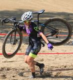 Pro Cyclocross Cycling Race Royalty Free Stock Photos