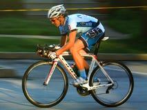 Pro-cyklist Royaltyfri Foto