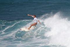 pro Davis surfingowiec Quincy zdjęcie stock