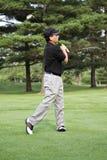 Pro de golf Images stock