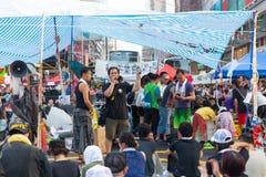 Pro-democracy protest in Hong Kong 2014 Royalty Free Stock Photos