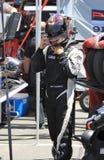 Pro driver Brett Sandberg Royalty Free Stock Image