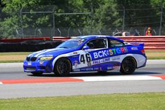Pro driver Brian Sellers Royalty Free Stock Image
