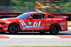 Pro driver Jack Roush Royalty Free Stock Images