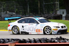 Pro driver Joey Hand in the M3 Royalty Free Stock Photography