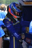Pro driver John Capestro-Dubets Stock Image