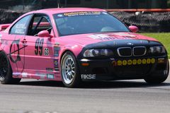 Pro driver Mark Hillestad Royalty Free Stock Photos