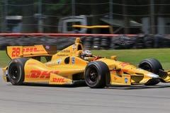 Pro driver Ryan Hunter-Reay Stock Image